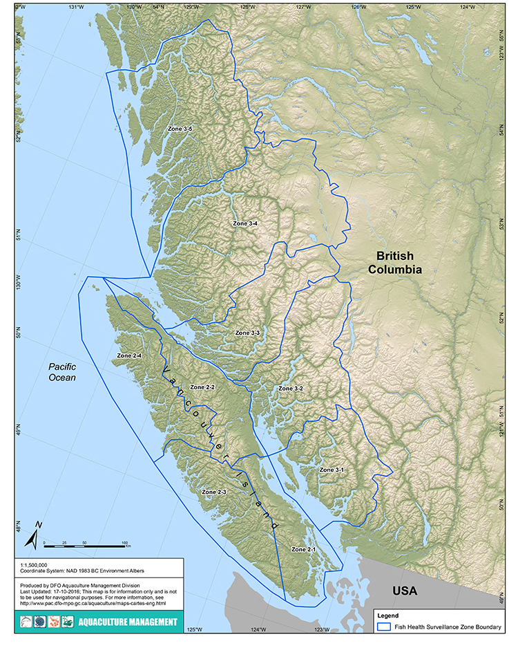 Aquaculture Maps | Pacific Region