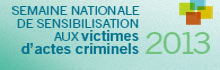 Victims of Crime Awareness Week 2013