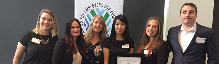DFO and CCG recognized as one of Canada's Top Employers for Young People