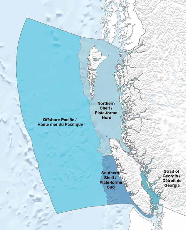 Major Biogeographic Units for the Canadian Pacific Ocean