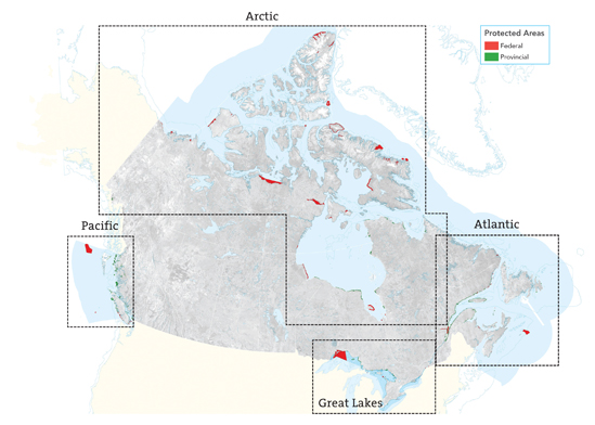 Protected Areas (Federal and Provincial)