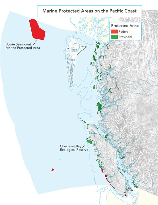 Marine Protected Areas on the Pacific Coast
