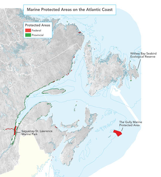 Marine Protected Areas on the Atlantic Coast