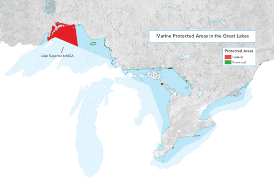 Marine Protected Areas in the Great Lakes