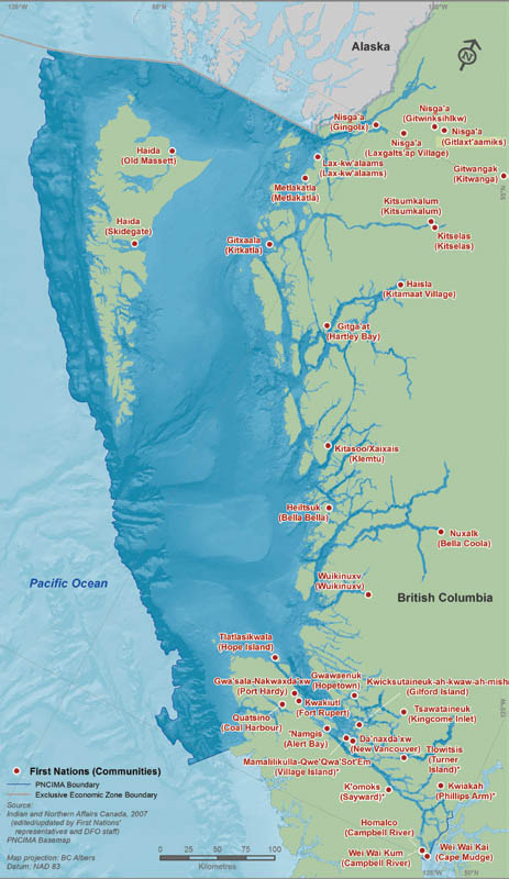 Pacific north coast integrated management area plan