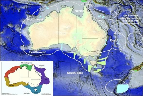 marine ecoregions of
