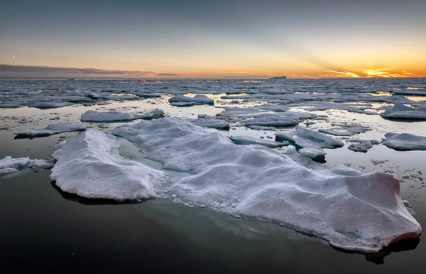 Arctic Ocean. Copyright D.L. Labrie, Fisheries and Oceans Canada.