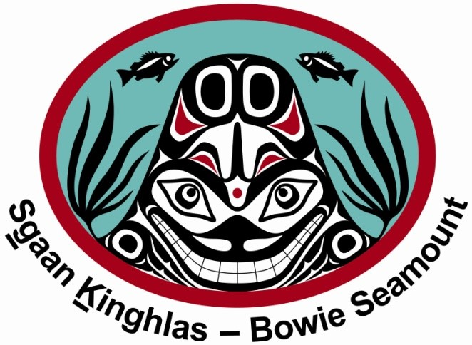 The SGaan Kinghlas–Bowie Seamount MPA logo