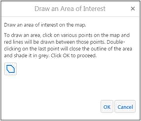 Draw area of interest