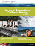 Cover page of the 2005 Survey of Recreational Fishing in Canada